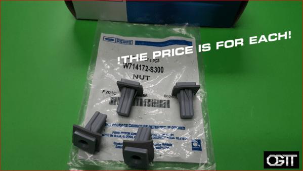 Brand New OEM NUT – EXPANSION W714172-S300 |W714172|