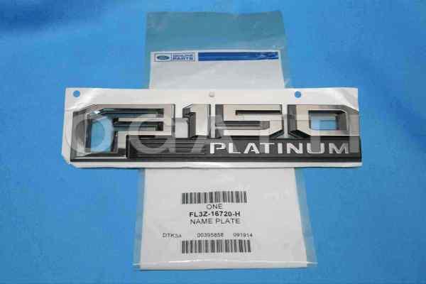 Brand New OEM NAME PLATE FL3Z-16720-H |16720|