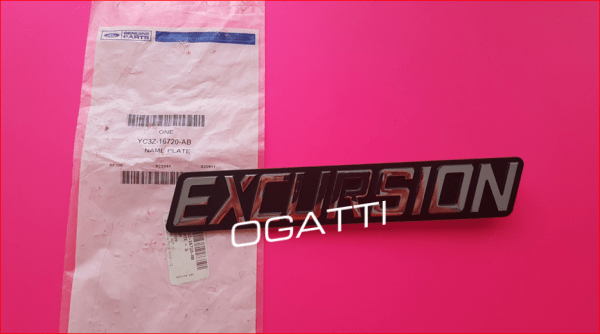 Brand New OEM NAME PLATE – SELF-ADHESIVE YC3Z-16720-AB |16720|