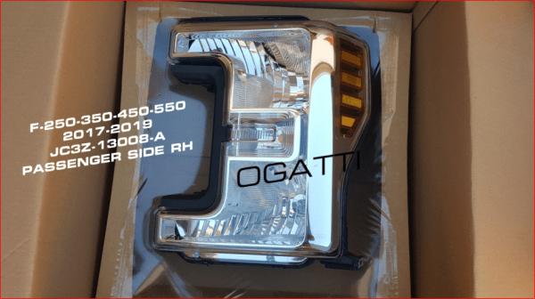 Brand New OEM HEADLAMP ASY JC3Z-13008-J |13008|