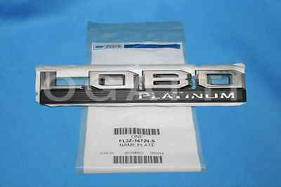 Brand New OEM NAME PLATE FL3Z-16720-S |16720|
