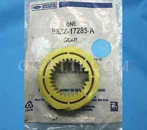 1983-1998 OEM Yellow 7 Tooth Ford Mustang Manual T5 T45 Speedometer Drive Gear