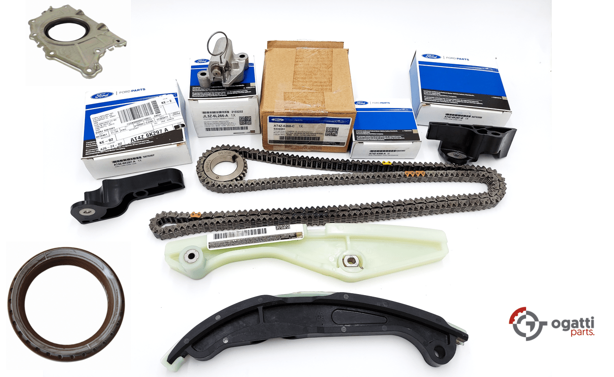 Brand New OEM Timing Chain Kit 3.5L DOHC VCT, 9 Pieces, Engine Repair Kit (OG-60-3.5L-9-3)