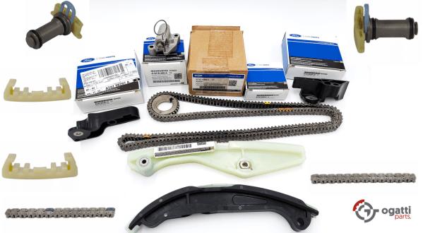 Brand New OEM Timing Chain Kit 3.7L DOHC 4V V6 EFI 2010-2016, 13 Pieces, Engine Repair Kit (OG-60-3.7L-13-1)