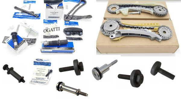 Brand New OEM Timing Chain 4.0L, 17 Pieces Engine Repair Kit (OG-60-4.0L-17-1)