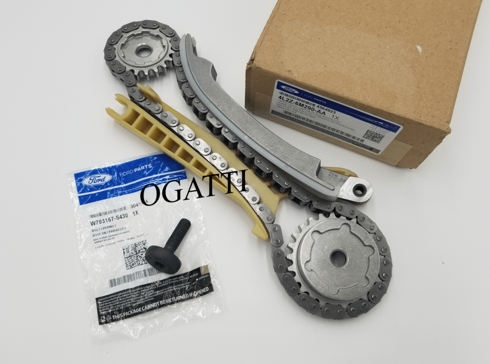 BRAND NEW OEM CASSETTE TIMING CHAIN REAR AND BOLT HEAD CASSETTE RH 4.0L, 2 PIECES ENGINE REPAIR KIT (OG-60-4.0L-2-11)