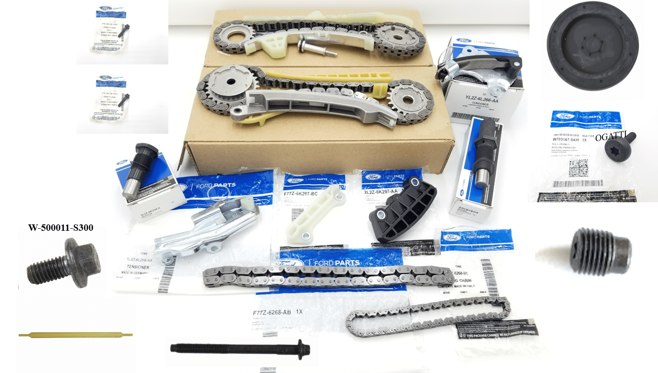 Brand New OEM Timing Chain 4.0L, 20 Pieces Engine Repair Kit (OG-60-4.0L-20-1)