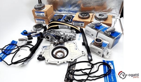 Brand New OEM Timing Chain Kit 3.5L DOHC TURBO, 22 Pieces, Engine Repair Kit (OG-60-3.5LT-22-1)