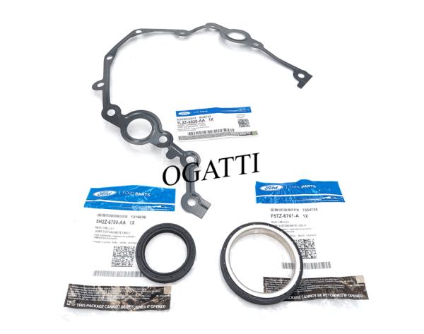 Brand New OEM Seal Crankshasft Oil and Gasket 4.0L, 3 Pieces Engine Repair Kit (OG-60-4.0L-3-5)