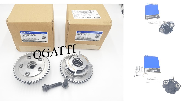 Brand New OEM Phaser Camshaft and Tensioner 5.4L V8, 4 Pieces Engine Repair Kit (OG-60-5.4L-4-2)
