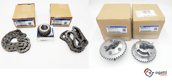Brand New OEM Timing Chain 4.6L, 5 Pieces Engine Repair Kit (OG-60-4.6L-5-3)