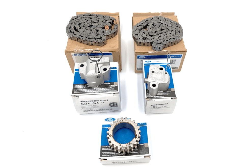 Brand New OEM Timing Chain, Gear and Tensioners 6.2L V8 2V DOHC, 5 Pieces, Engine Repair Kit (OG-60-6.2L-5)