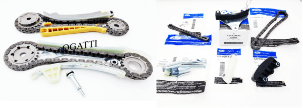 Brand New OEM Timing Chain 4.0L, 8 Pieces Engine Repair Kit (OG-60-4.0L-8-3)