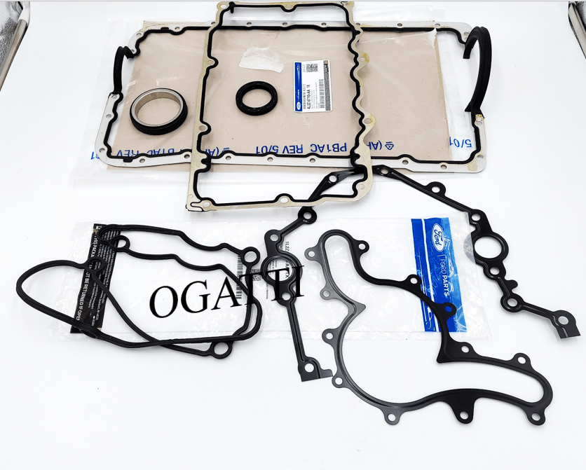 Brand New OEM Seals Crankshaft Oil and Gaskets 4.0L, 8 Pieces Engine Gasket Repair Kit (OG-60-4.0L-8-1)