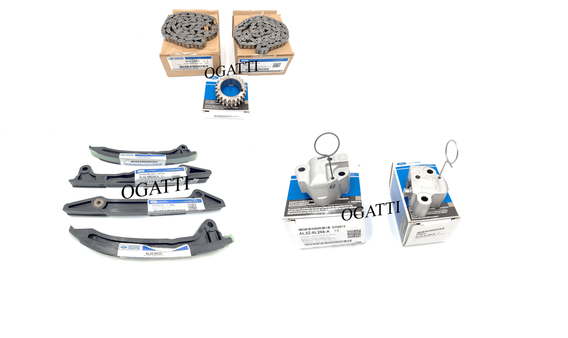 Brand New OEM Timing Chain Kit 6.2L V8 2V DOHC, 9 Pieces, Engine Repair Kit (OG-60-6.2L-9)