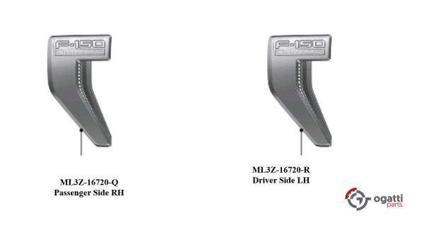 Brand New OEM NAME PLATE F-150 Limited 2021 KIT RH-LH (OG-F150-2020-2-8)