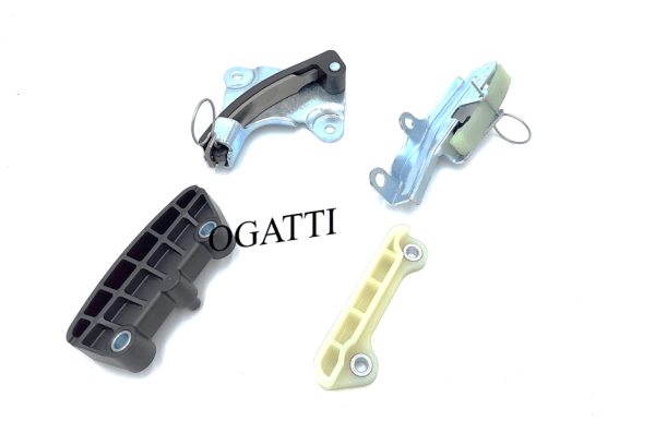 Brand New OEM Guide Timing Chain and Tensioner 4.0L, 4 Pieces Engine Repair Kit (OG-60-4.0L-4-7)