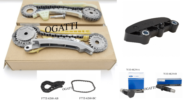 Brand New OEM Timing Chain 4.0L, 7 Pieces Engine Repair Kit (OG-60-4.0L-7-1)