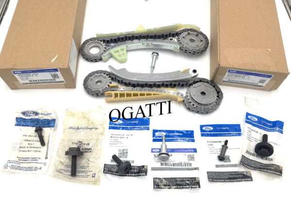 Brand New OEM Cassettes Timing Chain and Bolts 4.0L, 8 Pieces Engine Repair Kit (OG-60-4.0L-8-4)