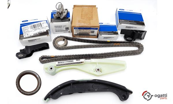 Brand New OEM Timing Chain Kit 3.5L DOHC VCT, 8 Pieces, Engine Repair Kit (OG-60-3.5L-8-1)