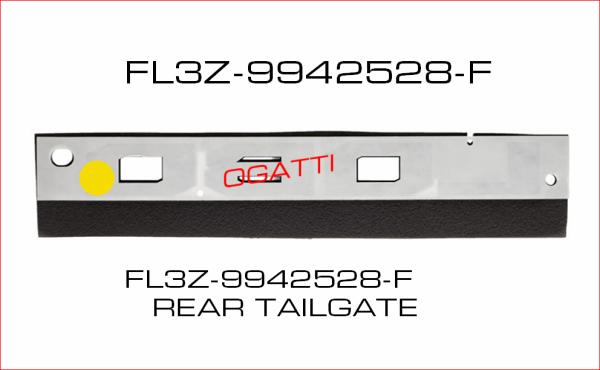 Brand New OEM NAME PLATE FL3Z-9942528-F  9942528 