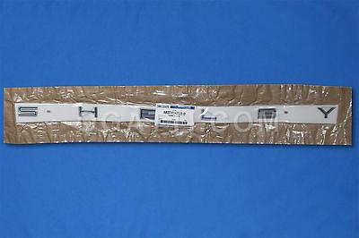 Brand New OEM NAME PLATE AR3Z-6342528-D |6342528|