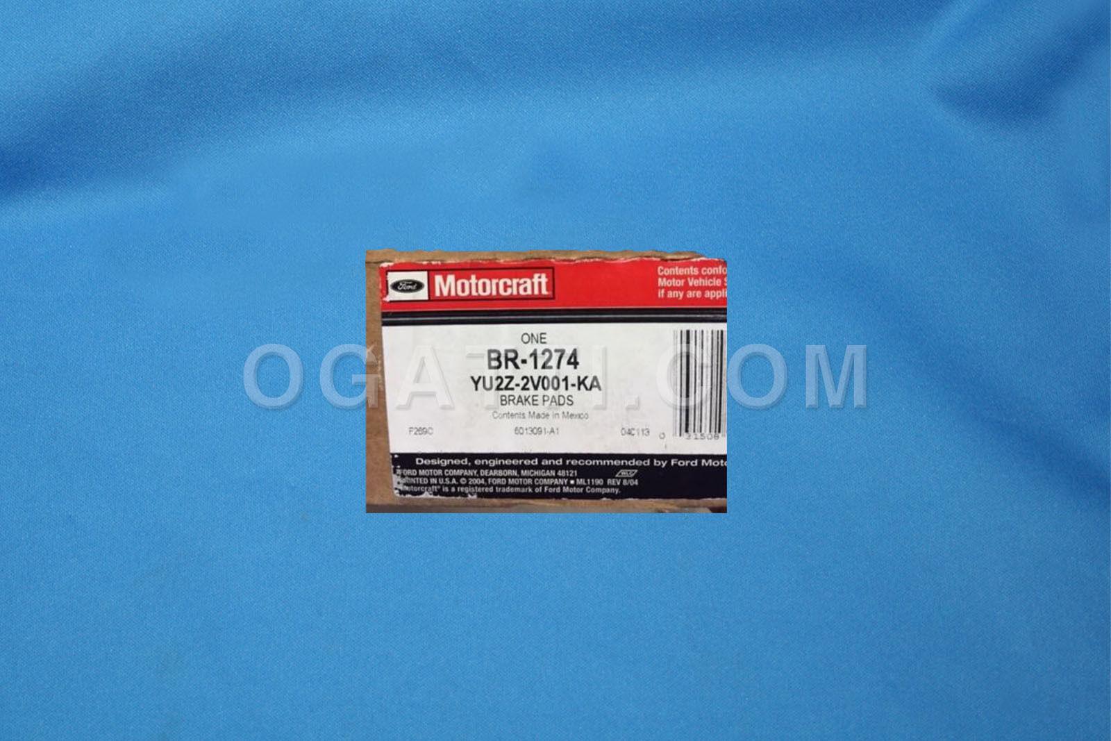 Brand New OEM PAD YU2Z-2V001-KA |2V001|