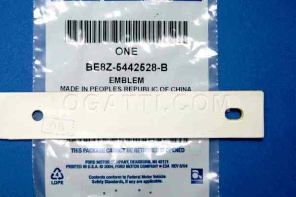 Brand New OEM EMBLEM BE8Z-5442528-B |5442528|