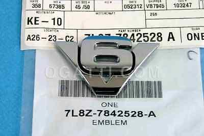 Brand New OEM EMBLEM 7L8Z-7842528-A |7842528|