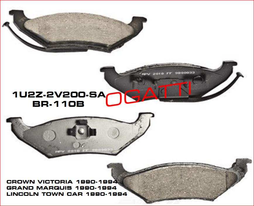 Brand New OEM KIT – BRAKE SHOE AND LINING 1U2Z-2V200-SA |2V200|