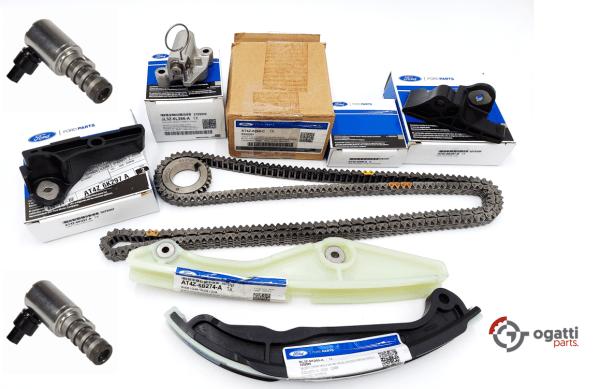 Brand New OEM Timing Chain Kit 3.5L DOHC VCT, 9 Pieces, Engine Repair Kit (OG-60-3.5L-9-1)