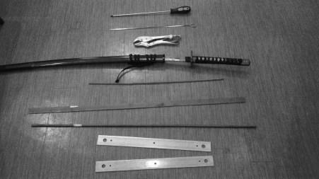刀の収録素材一部