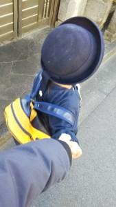 歩きの写真