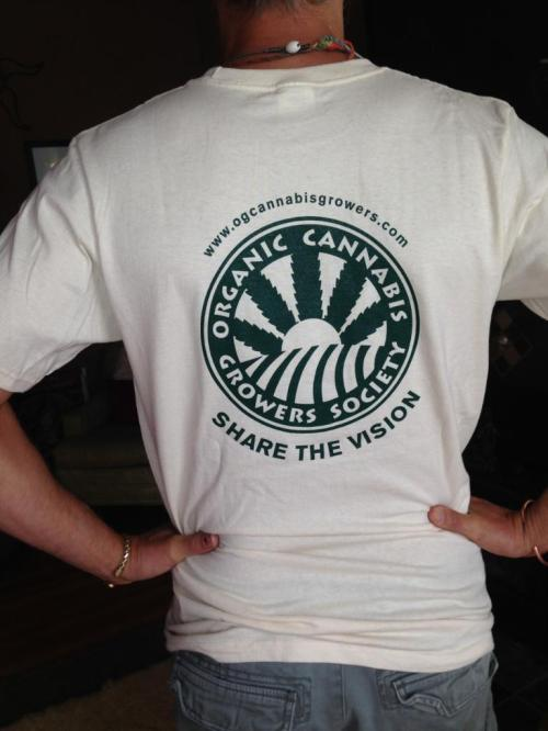 Organic Cannabis Growers T-Shirt
