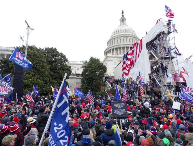 Tupper Lake photographer was at Trump rally outside Capitol | News, Sports, Jobs - Adirondack Daily Enterprise