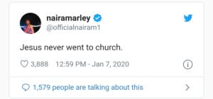Naira Marley post