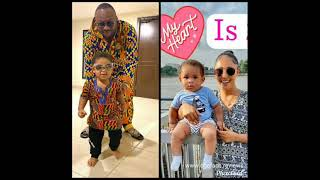 Rosy and Olakunle Churchill finally reveal their son; view more pictures of another Churchill Jnr2