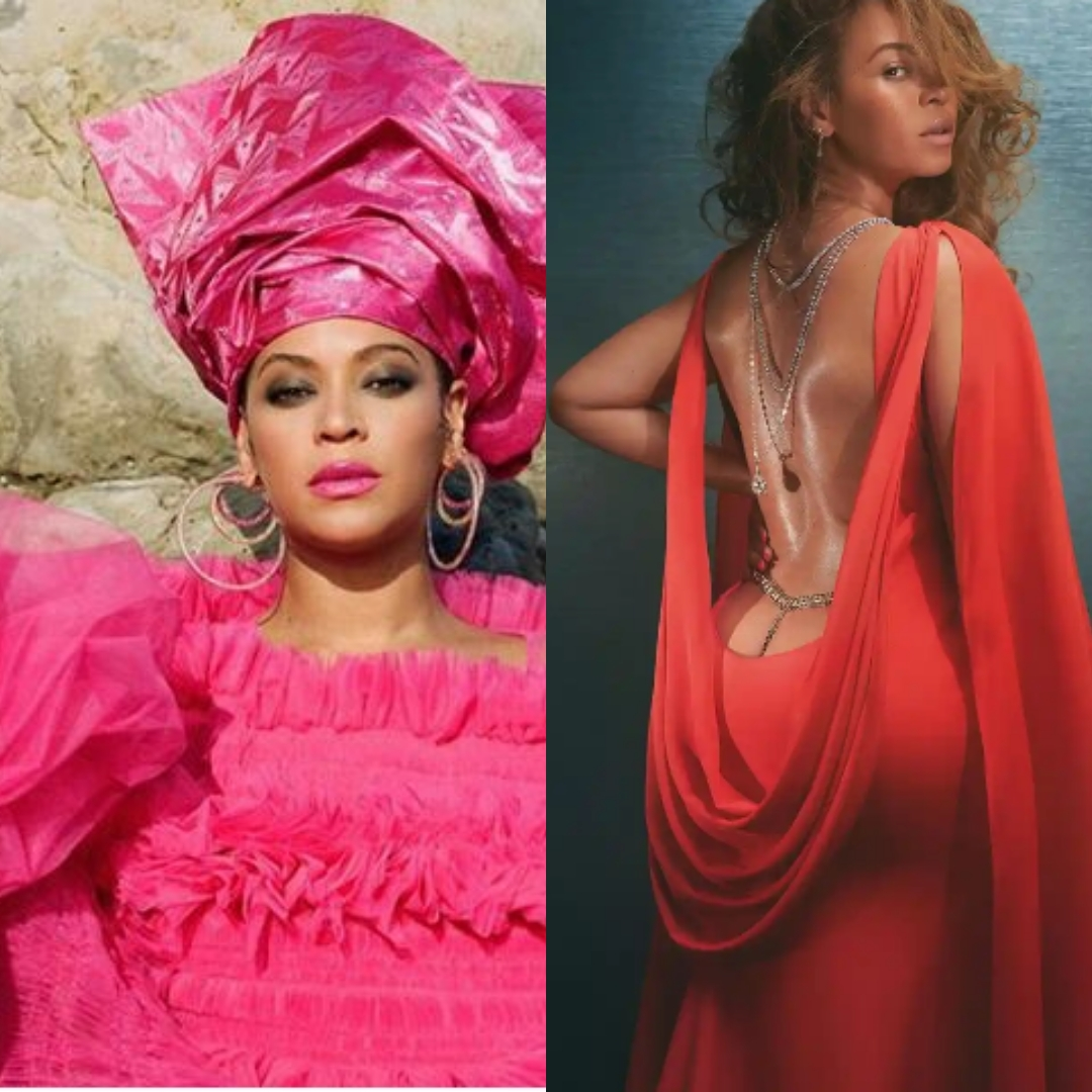 View here: Beyonce Knowles Carter Wears a skyscraper Gele, except that she was not wearing…