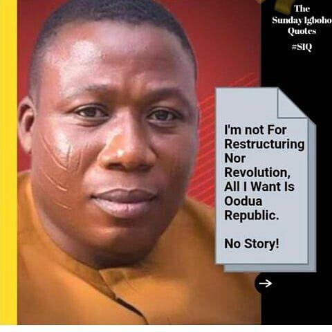 "What religion exactly does Sunday Igboho practice, ""Christianity, Islam or Traditional?"""