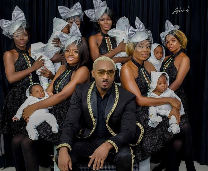 Here is why Nigerian socialite, Pretty Mike moves around with 6 pregnant women who are now…
