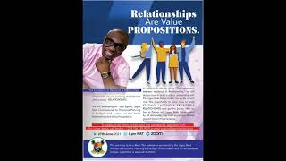 """Hurry!! Register for this event on """"Relationship Tips"""" sponsored by Honourable Commissioner, Sam Egube, and  …"""