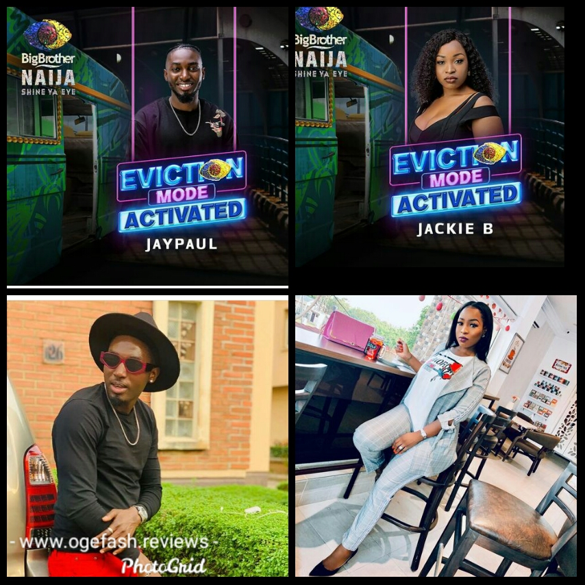 """Here is what BBNaija Jackie B and JayPaul revealed after their eviction…Jackie B says """"I am in love with.."""""""