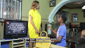 MOVIE REVIEW: IYAWO KAN (ONE WIFE) AHAH! NIYI WHY NA? JUST A PAIR OF JEANS…
