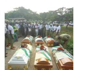 NAMES OF THE CORPERS THAT DROWNED IN TARABA RIVER