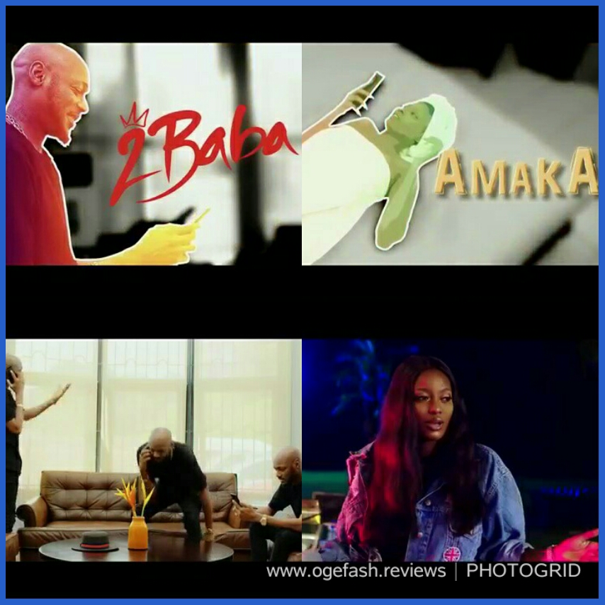 "(+ LYRICS + TRANSLATION) MUSIC REVIEW: AMAKA BY #2BABA FT PERUZZI ""IF YOU ASK ME, I'L SAY 2BABA DISAPPOINTED THIS LADY…!"""