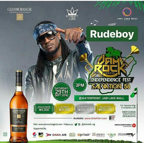 JAMROCK ABUJA WITH RUDEBOY