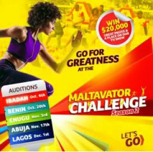 20,000 DOLLARS FOR GRABS @ THE MALTAVATOR CHALLENGE SEASON 2