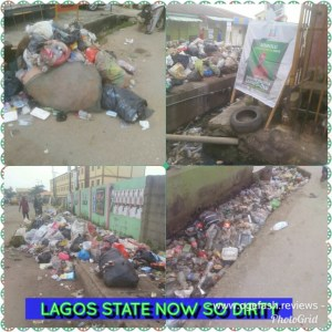 """THIS IS HOW """"SO DIRTY"""" LAGOS STATE IS NOW """"Where's VisionEscape sorry VISIONSCAPE"""""""