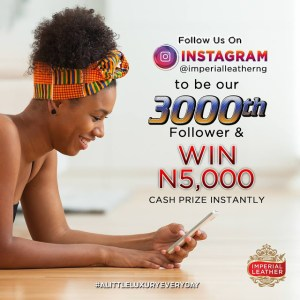 Read more about the article INSTANT 5000K NOT KOBO O, 5000 NAIRA FOR GRABS!