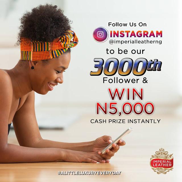 INSTANT 5000K NOT KOBO O, 5000 NAIRA FOR GRABS!